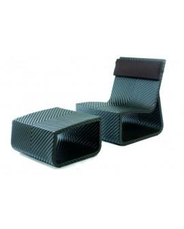 Chaise et pouf Summertime - HEMISPHERE éditions - 4