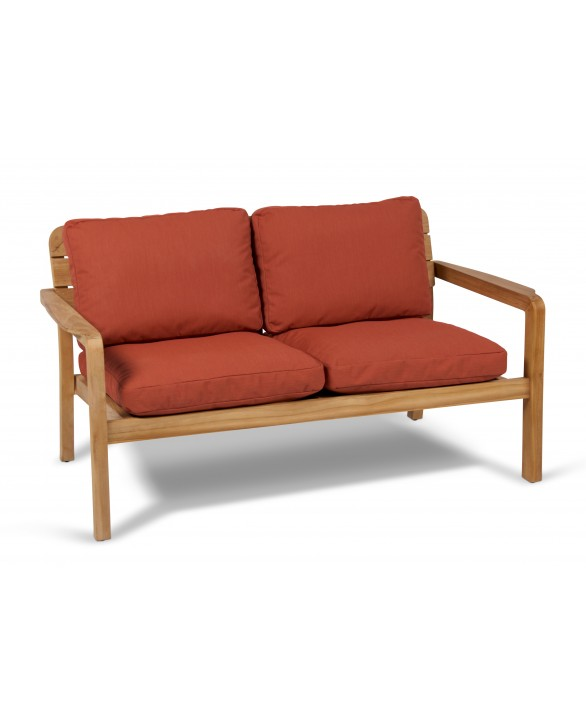 banquette 2 places lodge vlaemynck. Black Bedroom Furniture Sets. Home Design Ideas