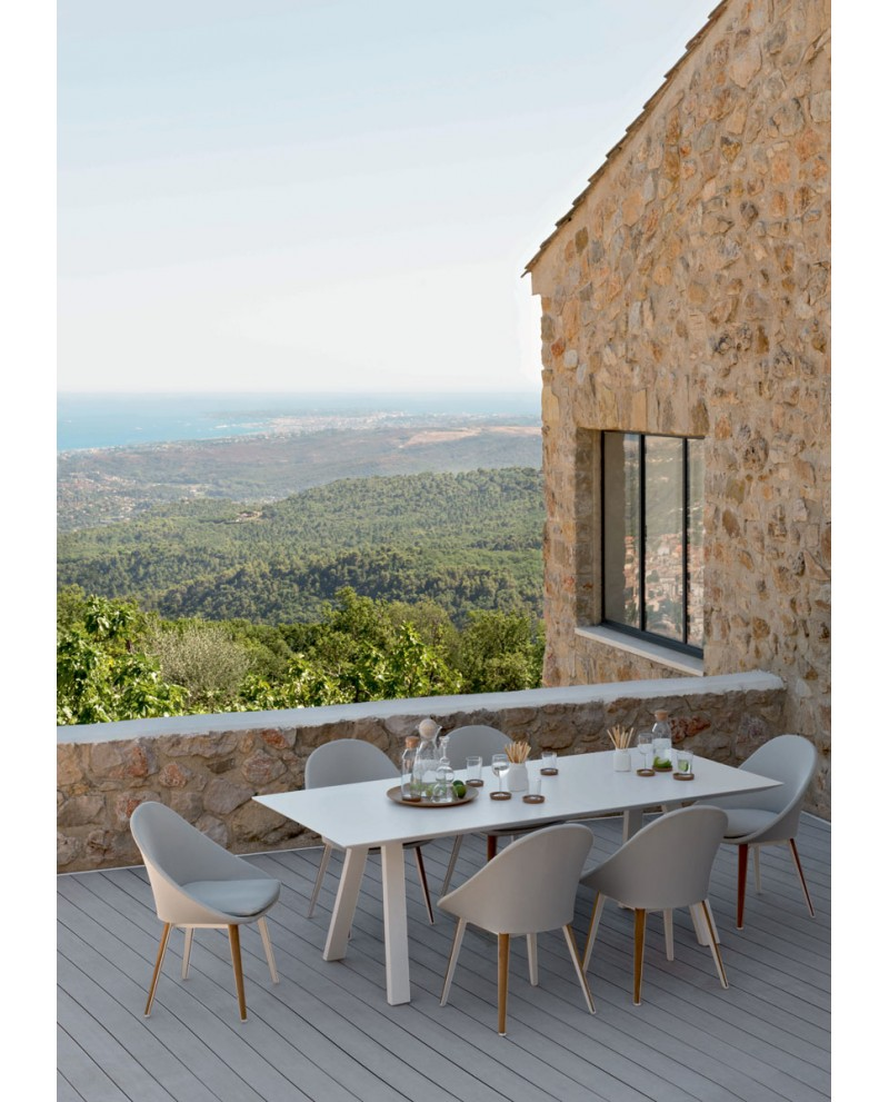 Ensemble repas table et chaise Vanity - VLAEMYNCK