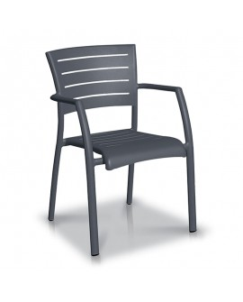 Fauteuil Madison anthracite - VLAEMYNCK